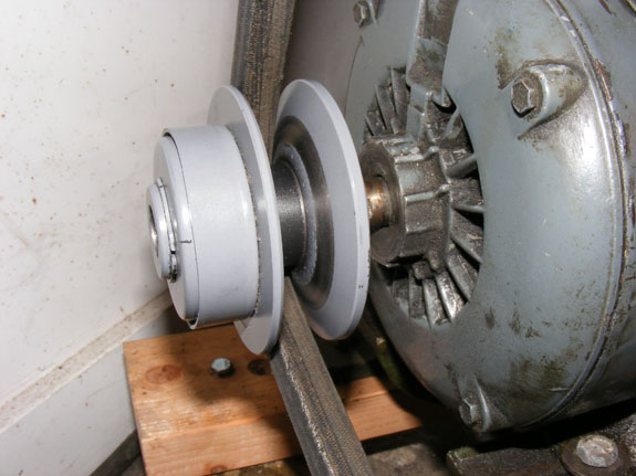 C&P New motor pulley