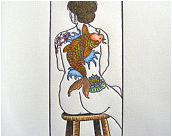tattooed woman color-mini