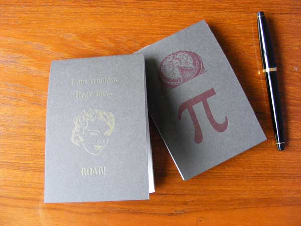 Woman and Pi Notepads