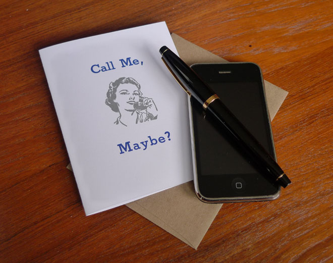 Call Me, Maybe Greeting Card