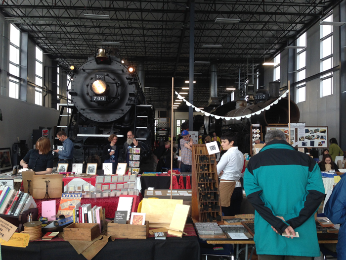 Letterpress Fair at the Oregon Rail Heritage Center